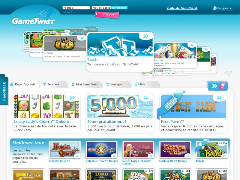 Gametwist poker online netent casino minimum deposit 5