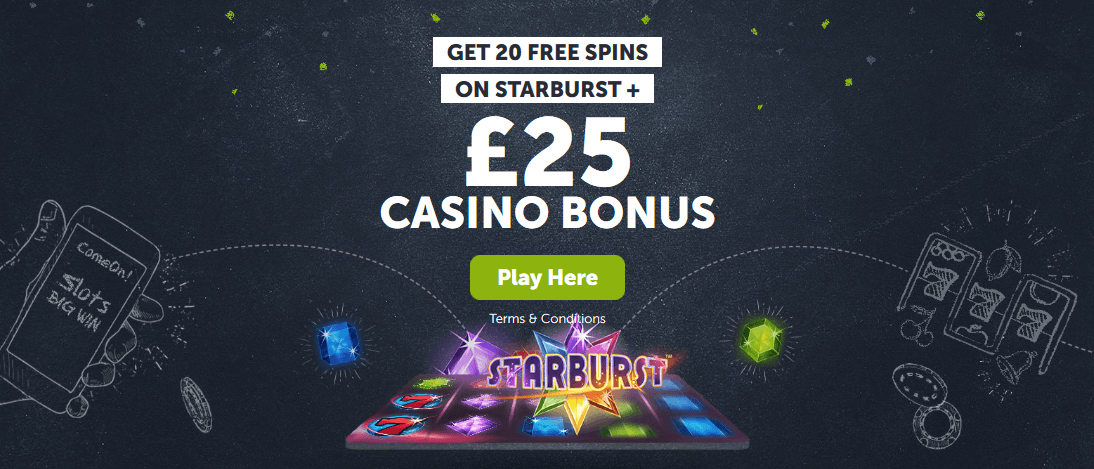 Come On Casino Welcome Offer